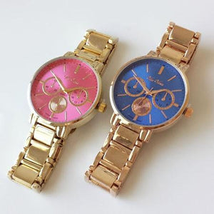 Candy Dial Metal Watch