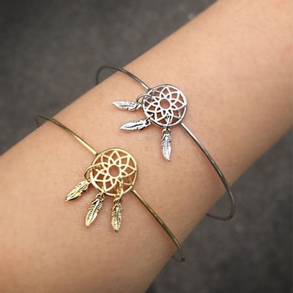 Tiny DreamCatcher Bangle