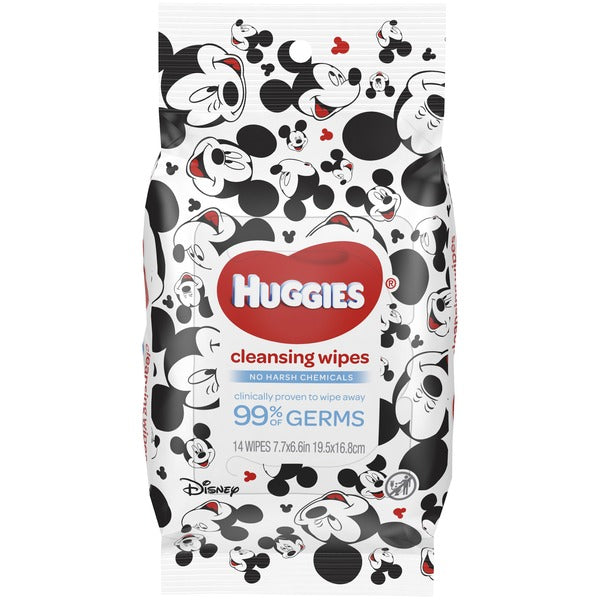 Huggies Cleansing Wipes