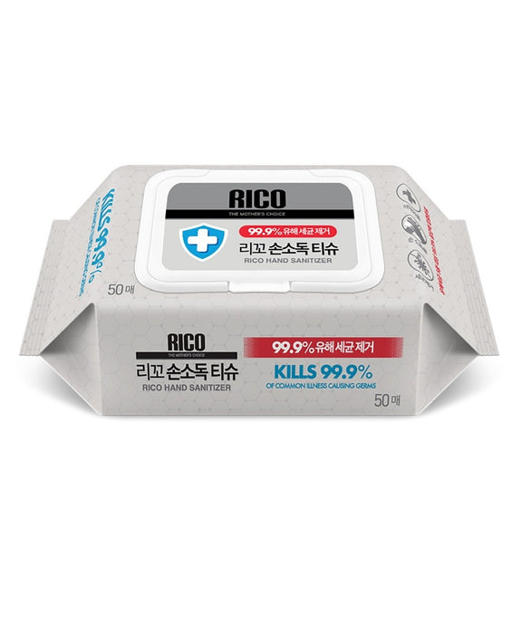 RICO Hand Sanitizer Disinfectant Wipes