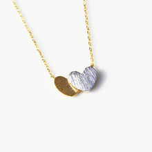 Load image into Gallery viewer, Double Hearts Necklace