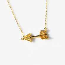 Load image into Gallery viewer, Arrow Necklace