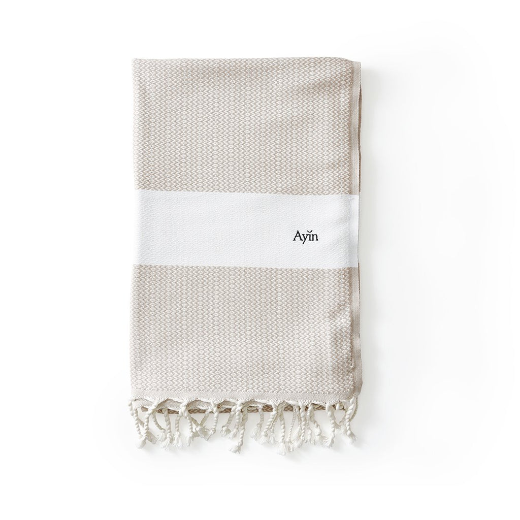 Organic Turkish Towel, Flatwoven