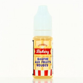 E-liquide Gaufre aux fruits rouges liquideo bakery 10ml
