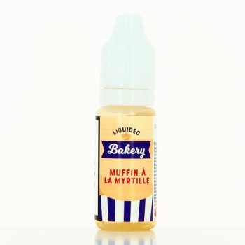 E-liquide muffin a la myrtille liquideo bakery 10ml