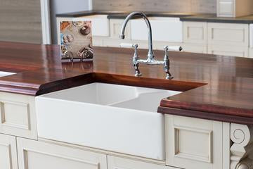 September Special - Double Butler Sink & Free Tap - $985.00