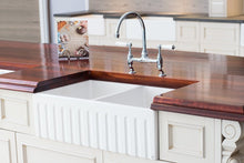 Double Fluted Fireclay Sink - Flash Sale $985.00