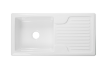 Single Ceramic Kitchen Sink