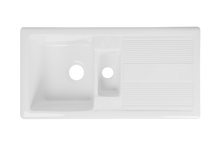 Double Ceramic Kitchen Sink