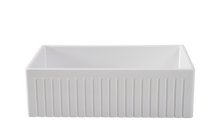 Large Single Bowl 838 mm Narrow Fluted Farmhouse Sink - Half Price !