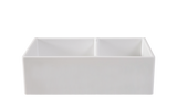 Double Farmhouse Offset Sink - 838 - 50% Off