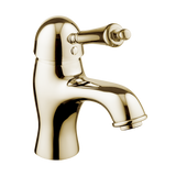 English Bathroom Tap - Metal Lever