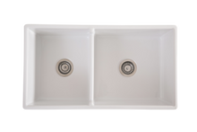 Double Farmhouse Offset Sink - 838
