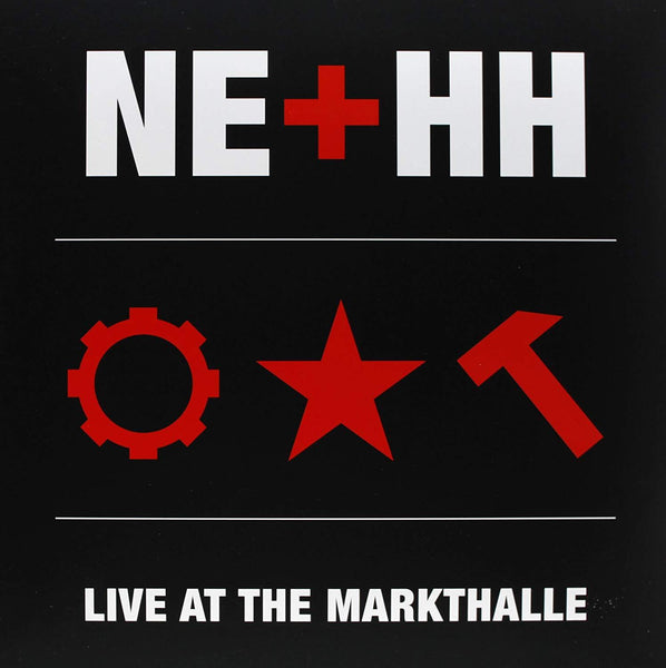 Nitzer Ebb - NE + HH Live At The Markthalle Ltd. Gatefold Picture Disc Numbered To 501 Copies