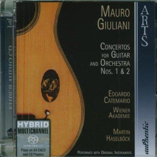 Giuliani, Mauro - Concertos Nos. 1&2 for Guitar and Orchestra (Catemario) SACD