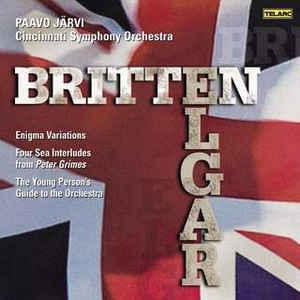 Britten / Elgar / Järvi - Britten: Young Person's Guide etc.