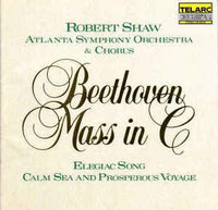 Beethoven / Shaw / Atlanta Symphony Orch. - Mass in C Major SCHELLENBERG