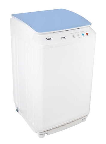 Silk Compact 7.7Lbs Full Automatic Washer -Blue