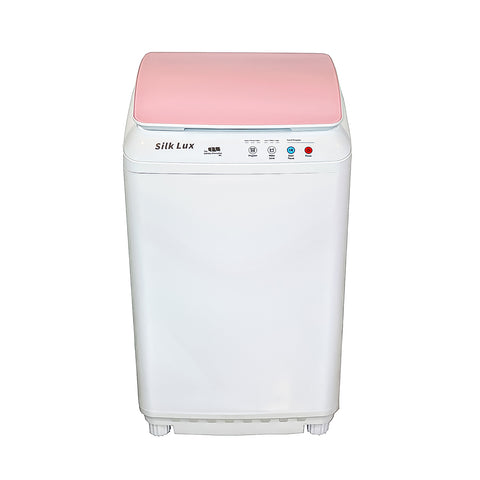 Image of Silk Lux Compact 7.7Lbs Full Automatic Washer with Germicidal UV light- Pink