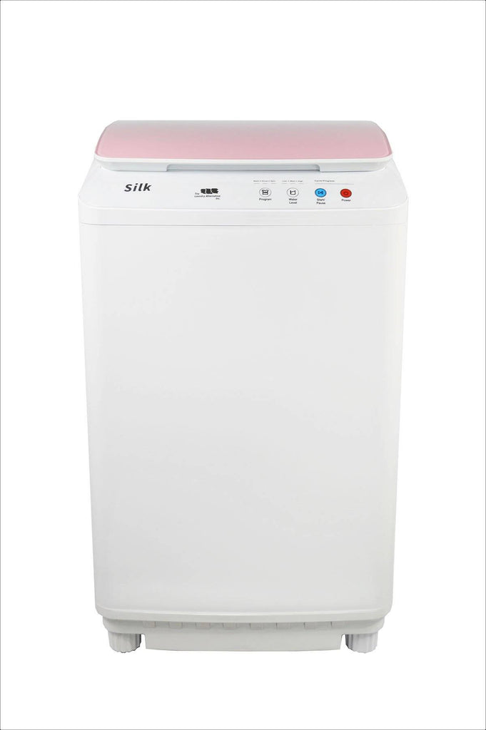 Silk Compact 7.7Lbs Full Automatic Washer - Pink