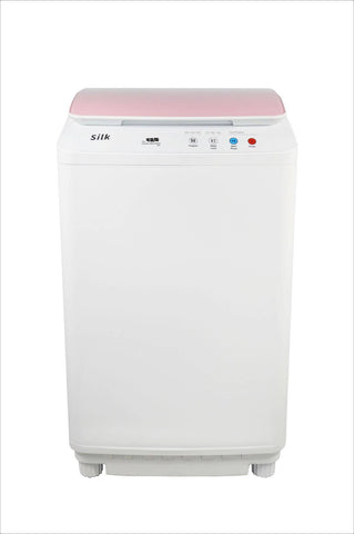 Image of Silk Compact 7.7Lbs Full Automatic Washer - Pink