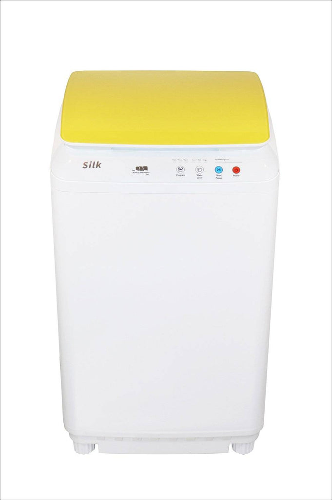 Silk Compact 7.7Lbs Full Automatic Washer- Yellow
