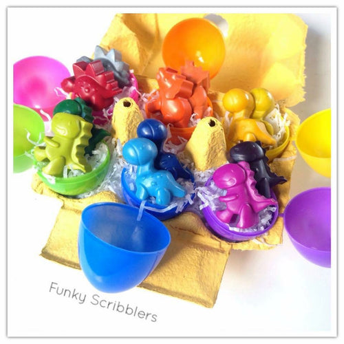 Rainbow Dinosaur Egg Box