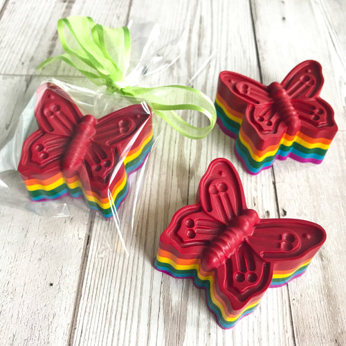 Super sized Rainbow Butterfly Scribbler