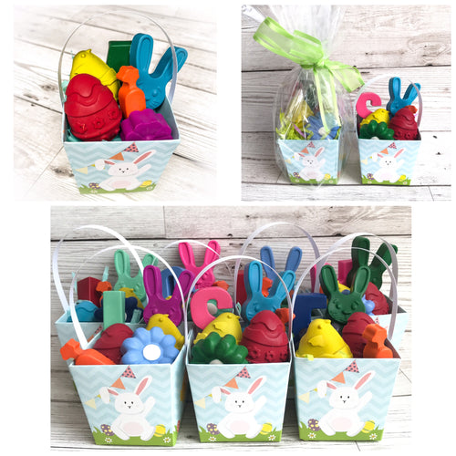 Easter Mini Crayon Buckets