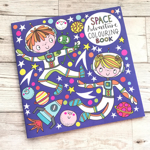 Space Adventure Colouring Book