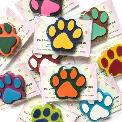 Paw Print Party Favours