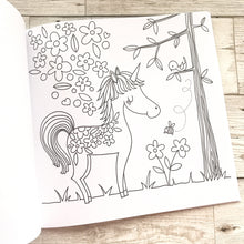 Load image into Gallery viewer, Unicorns & Rainbows Colouring Book