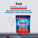 Finish All in 1 Max Powerball - 30 Tablets and Dishwasher Salt - 2 kg