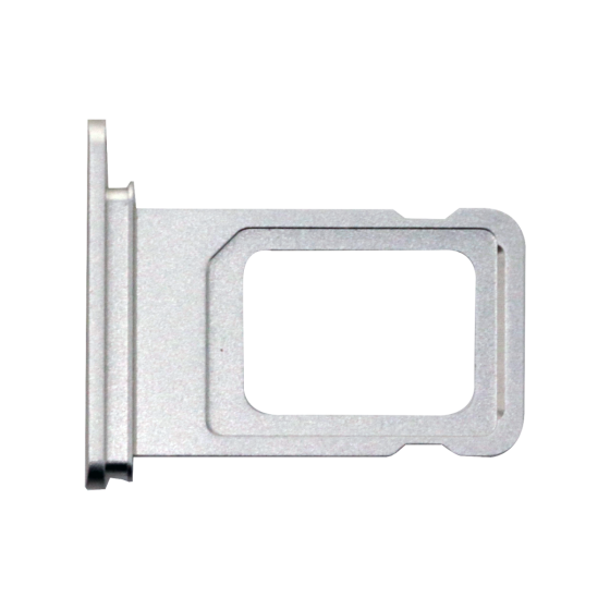 2-SIM Card Tray iPhone 11 White