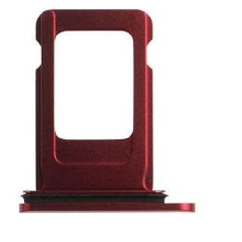 2-SIM Card Tray iPhone 11 Red - Loctus