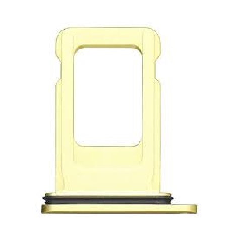 2-SIM Card Tray iPhone 11 Yellow