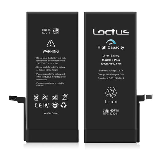 Battery iPhone 6 Plus 3410mAh High Capacity - Loctus