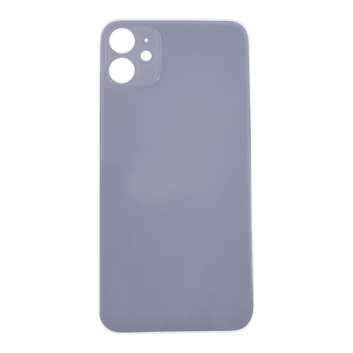 Back Cover Glass (big hole) iPhone 11 Purple