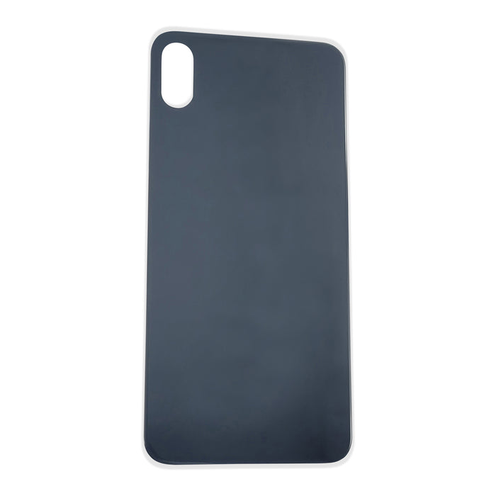 Back Cover Glass (big hole) iPhone X Space Gray