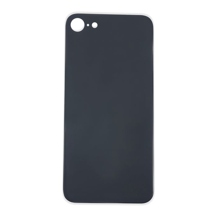 Back Cover Glass (big hole) iPhone SE 2020 Black