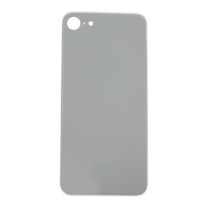 Back Cover Glass (big hole) iPhone 8 Silver