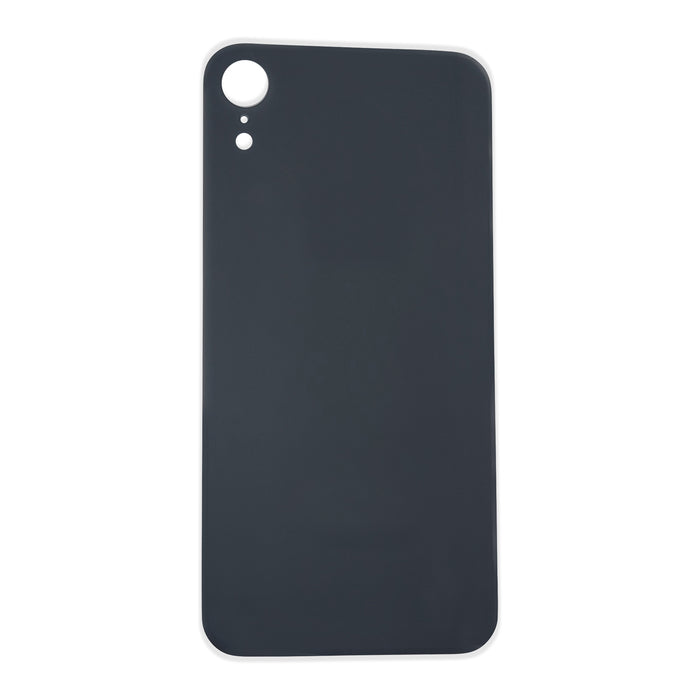 Back Cover Glass (big hole) iPhone XR Black
