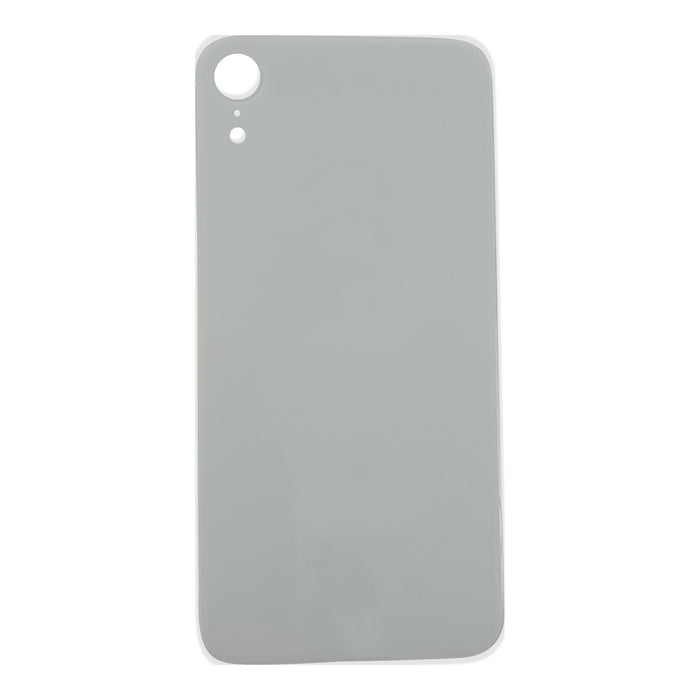 Back Cover Glass (big hole) iPhone XR White