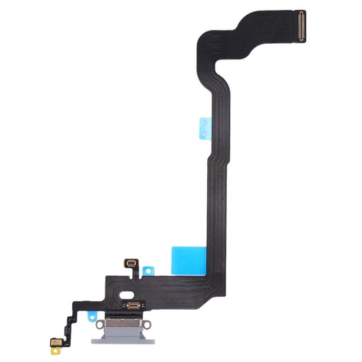 Charging Flex Cable iPhone X White - Loctus