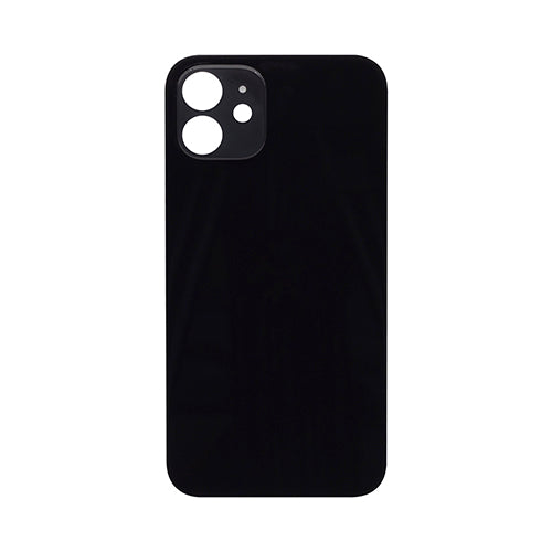 Back Cover Glass (big hole) iPhone 11 Black