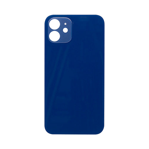 Back Cover Glass (big hole) iPhone 12 Blue