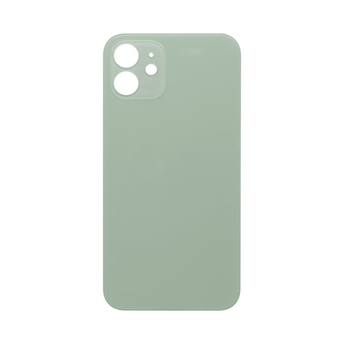 Back Cover Glass (big hole) iPhone 12 Green