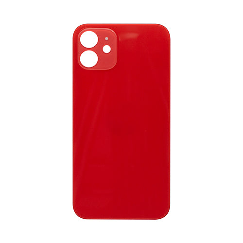Back Cover Glass (big hole) iPhone 11 Red