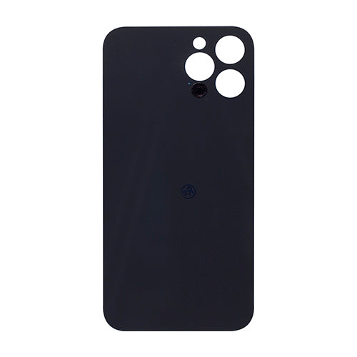 Back Cover Glass (big hole) iPhone 12 Pro Max Graphite