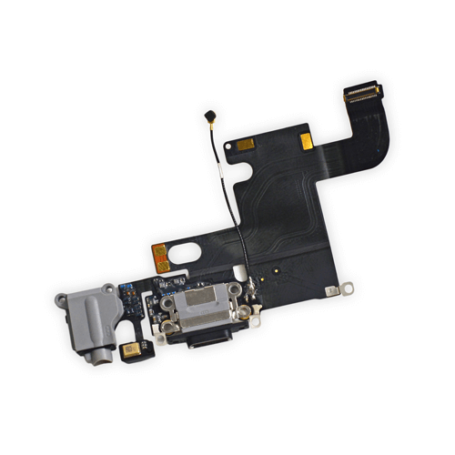 Charging Flex Cable iPhone 6 Black - Loctus